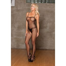 Bodystocking fine résille ICollection Bodystocking IC-8620 Lerotika
