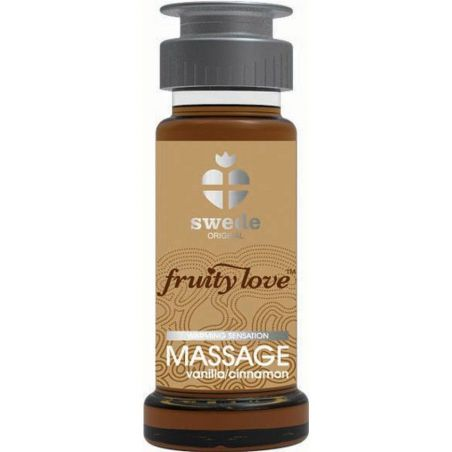 Huile de massage Vanille Cannelle 50ml Swede