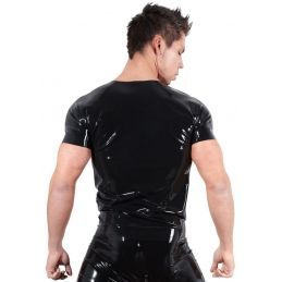 Tee Shirt en Latex - L LateX T-shirts BDSM 2200096000300 Lerotika