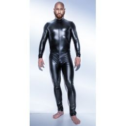 Combinaison Powerwetlook H043 - XL Noir Handmade Exclusive Combinaisons BDSM Hommes 2200079000400 Lerotika