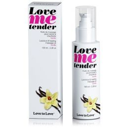 Huile de massage Love Me tender saveur Vanille - 100 ml Love to Love Huiles de Massage 4400292000000 Lerotika