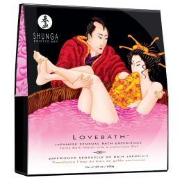Gelée de Bain Lovebath - Fruit du dragon Shunga Erotic Art Huiles de Massage 4400277000000 Lerotika