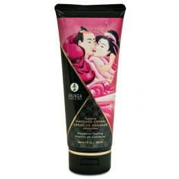 Creme de massage Emotion de Framboise - 200 ml Shunga Erotic Art Huiles de Massage 4400242000000 Lerotika