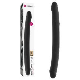 Double Gode Real Do Noir - 42 cm Dorcel