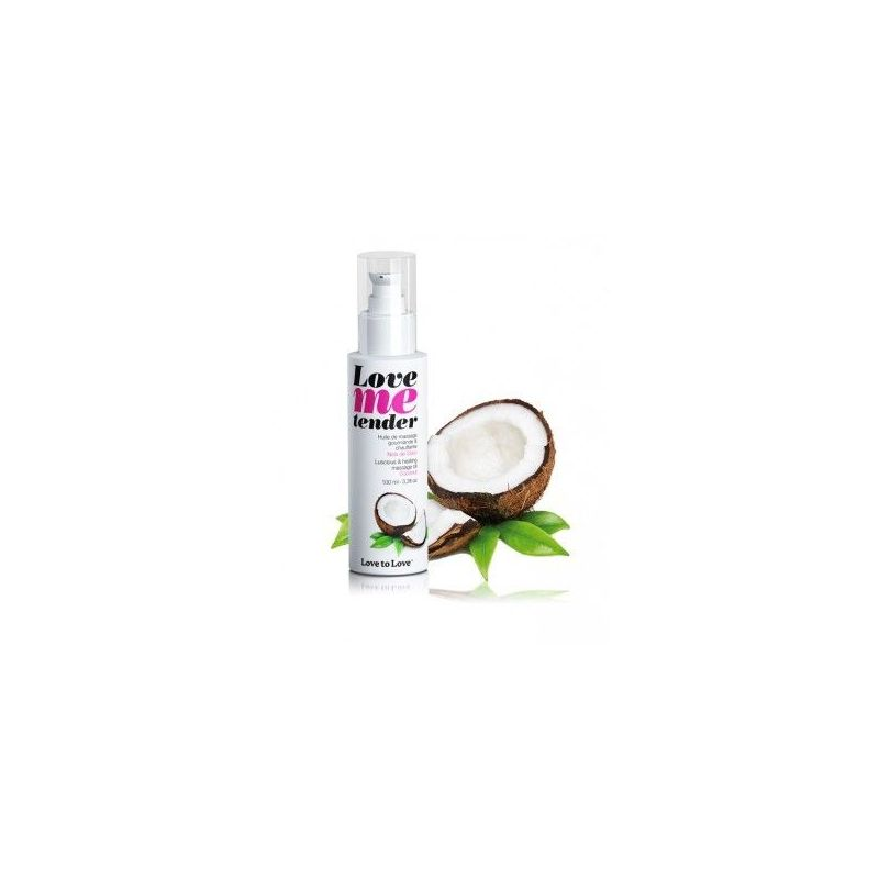 Love Me Tender Noix de Coco 100ML Love to Love Huiles de Massage LTL-01711 Lerotika