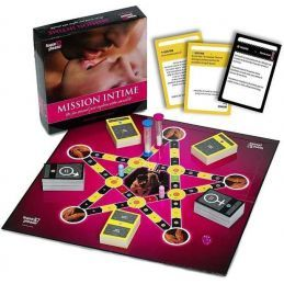 Jeu Mission Intime FR Tease and Please Jeux Coquins 1130755000000 Lerotika
