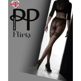 Collants effet bas coutures Pretty Polly Collants Jarretelles PP-PNAVR5 Lerotika