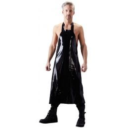 Tablier Noir en Latex LateX