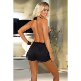 Shannon Romper Black Beauty Night Robes Sexy BN-02543 Lerotika