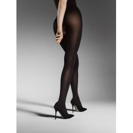 Ouvert Collants 80 DEN - Nude Gloss Fiore Collants Opaques FI-5040 Lerotika