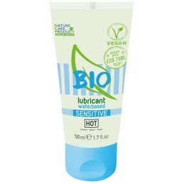 Lubrifiant Bio Sensitive - 50 ml Hot - Shiatsu Lubrifiants à base d'eau 4100547000000 Lerotika