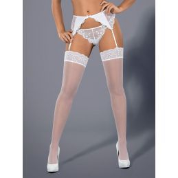 Etheria stockings white Obsessive